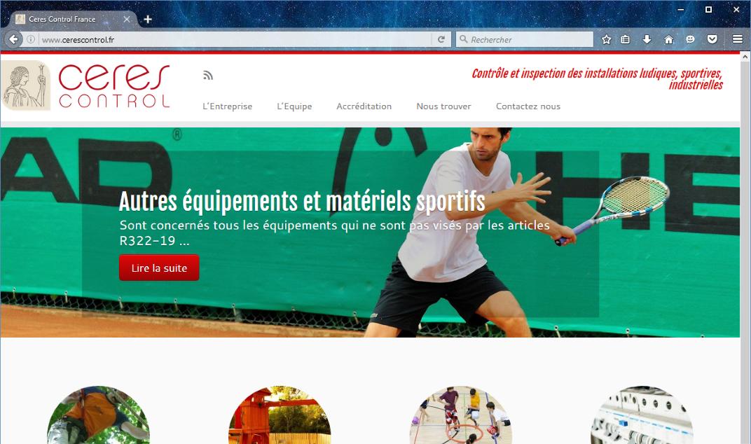 Refonte de site Web avec Wordpress