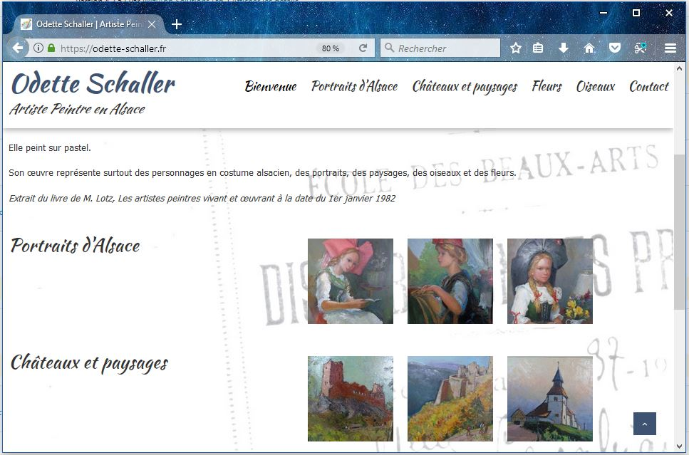 Artiste Peintre Site Web