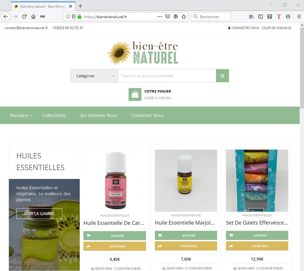 Woocommerce et boutique en ligne